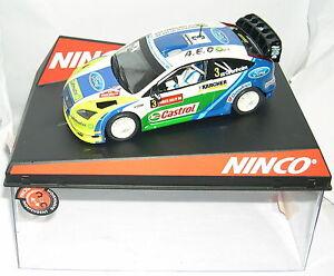 Juste Ninco Ford Focus Wrc Xxii Campionat D'osona 2008 A.e.o. Sport Off.drivers Lted