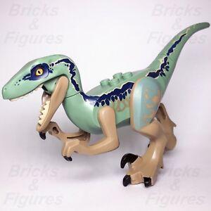 JURASSIC-WORLD-lego-RAPTOR-BLUE-dinosaur-DINO-fallen-kingdom-GENUINE-75928-75930