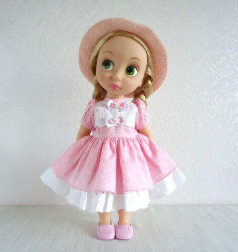 16 inch doll dress, handmade disney animators clothes, 40 cm doll, doll outfit