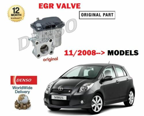 FOR TOYOTA YARIS 1.4 TD D4D 1ND-TV 11//2008-/>NEW EGR EXHAUST GAS VALVE  258003301