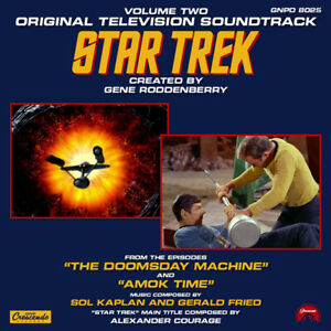 Details about Star Trek Classic TV Music Soundtracks Volume 2 Cassette GNP  NEW UNPLAYED SEALED