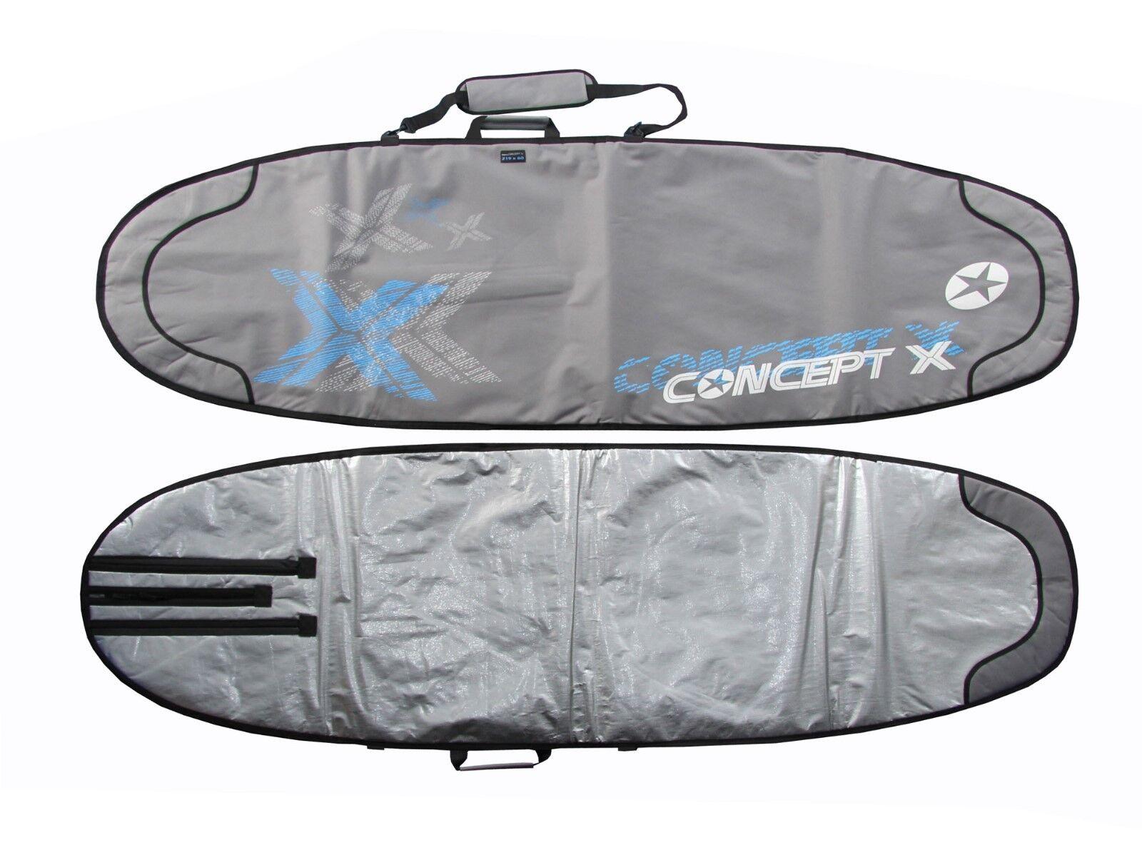 Concept Concept Concept X Funda Tabla 219 Cm Vuelo y Viajes Bag Windsurf Transporte Bag Nuevo 01c020
