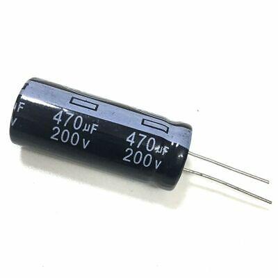 100V 470uF 100Volt 470MFD Electrolytic Capacitor 16mm×25mm