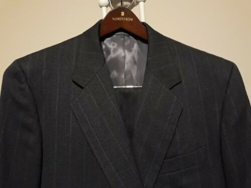 HICKEY-FREEMAN Customized Clothes 2PC 2BTN Men's Gray Suit Size 44L Pants 37/32 big discount