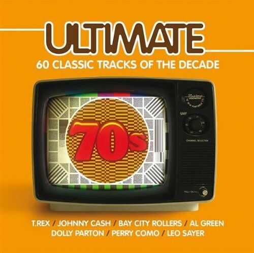 1 of 1 - Various Artists - Ultimate 70s - Various Artists CD LOVG The Cheap Fast Free The