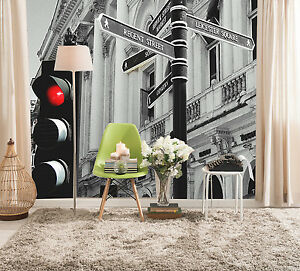 3D-Traffic-light-intersection-Wall-Paper-Wall-Print-Decal-Wall-Deco-AJ-WALLPAPER