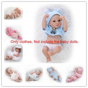Fit For 10 11 Reborn Baby Dolls Outfit Clothes Boy Girl Doll Clothing Dress Ebay