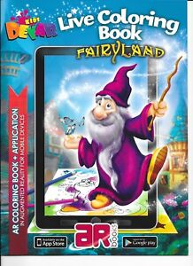 Details About Fairyland By Devar Kids 3d Kids Live Colouring Book Augmented Reality