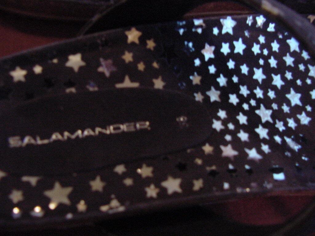 Salamander  Ramona/Gizeh    38  L L L 7  Suede Leder  Navy Soft Footbed f37562