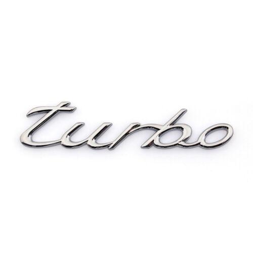 3D Car Auto Emblem Badge Sticker Decal Turbo Silver 1.6T 1.8T 2.0T 3.0T A7