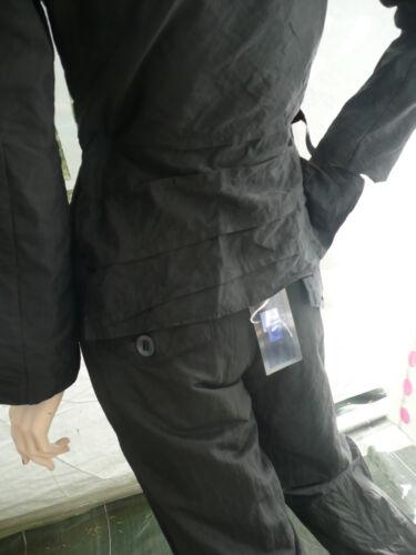235 Accostages Taille Valeur Etincelles Pantalon 2 Euros Neuf 40 Zip Noir rx8rn0Bg