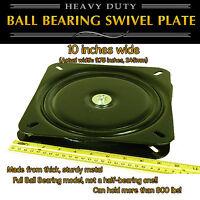 1pc - 10 Inch (245mm) - Full Ball Bearing Flat Swivel Plate Lazy Susan Turntable
