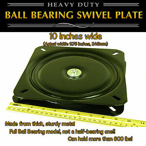 1pc-10-inch-245mm-Full-Ball-Bearing-Flat-Swivel-Plate-Turntable