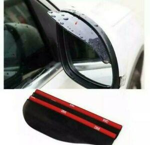 2X Universal Car Rear View Side Mirror Rain Board Sun Visors Shades Shield Guard