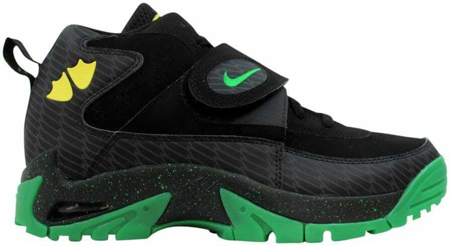 9d0fea22e0 Nike Air Mission PRM Black Apple Green-Yellow Strike 644103-001 Men's Size  9.5