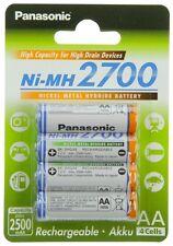 Panasonic Mignon AA Akku f Sony Cybershot DSC-S80 DSC-S90 DSC-S500 Accu Batterie