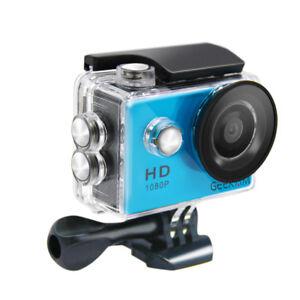 12MP 1080P 4K Acción Cámara Deportiva Vídeo HD Impermeable para GoPro sport USB