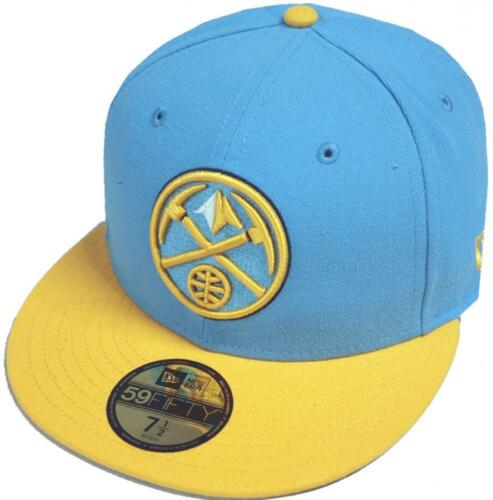 NEW Era Denver Nuggets 2 Tone CAP 59 FIFTY 5950 fitted SPECIAL LIMITED EDITION