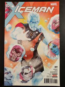 ICEMAN-1-2017-MARVEL-Comics-VF-NM-Comic-Book
