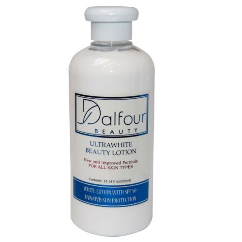 3 Bottles of Dalfour Beauty Body Whitening Lotion with Maximum SPF