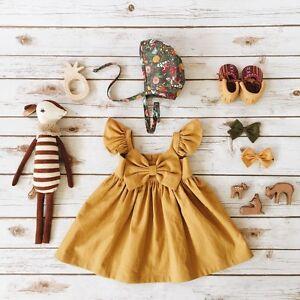 9e645c618 Newborn Kids Baby Girls Cute Clothes Princess Party Prom Bow Tutu ...