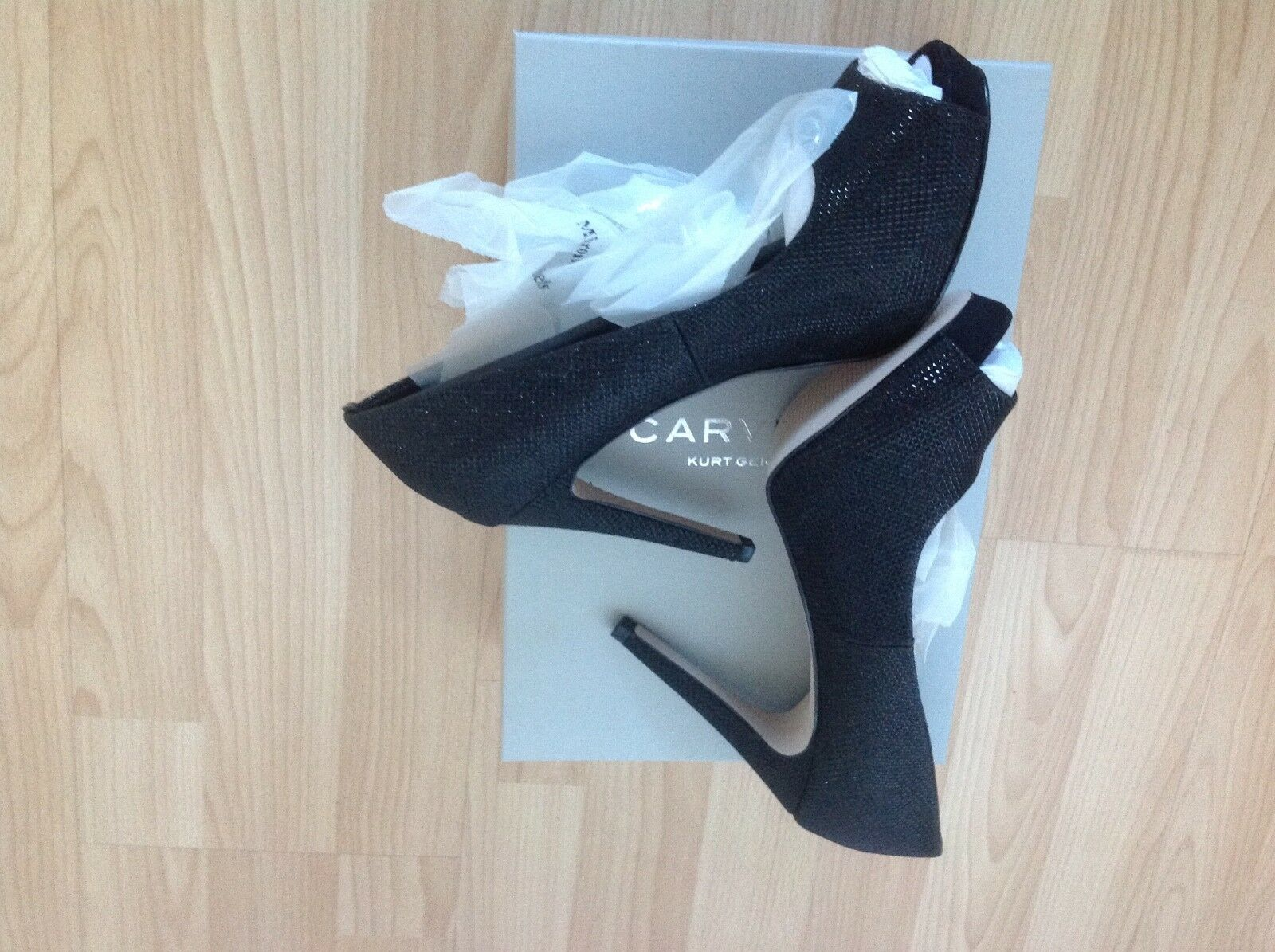 Carvela Kurt Geiger brand new black court with shoe size 4 with court box 25d1c4