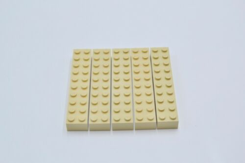 LEGO 5 x Base Pierre Beige Tan Brick 2x10 3006 4615599