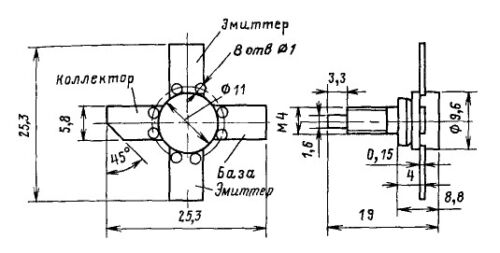 KT920V//925V NPN 36V 3A 25W VHF//UHF Transistor~2N5591//2SC2642//J03020//С25-12//TH553