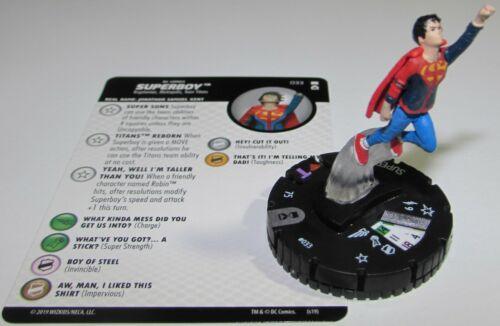 SUPERBOY 033 DC Universe Rebirth HeroClix Rare