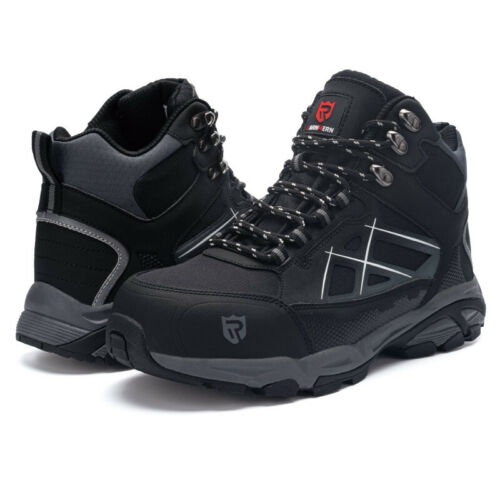 LARNMERN Safety Shoes Mens Work Boots Steel Toe Cap Indestructible Sneakers