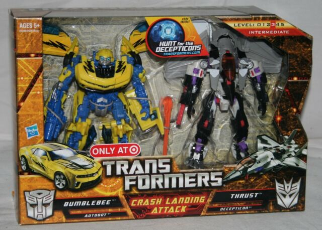 hasbro transformers hunt for the decepticons crash landing attack