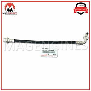 FOR FRONT 90947-02A16 NO.1 FLEXIBLE 9094702A16 Genuine Toyota HOSE