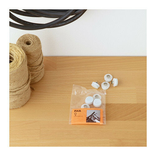 FIXA Floor Protectors With Rivet, 8 Pieces/set, Chair, Table, *