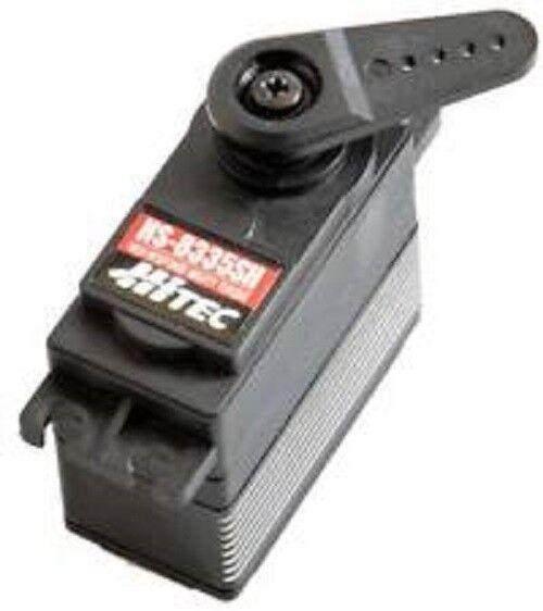 Hi-Tec HS-8335SH, Hv Hi Res alto esfuerzo de torsión Engranaje De Acero HRC38335
