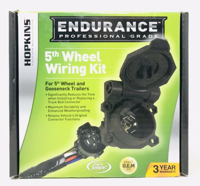 Hopkins 41157 Endurance 5th Wheel Wiring Kit