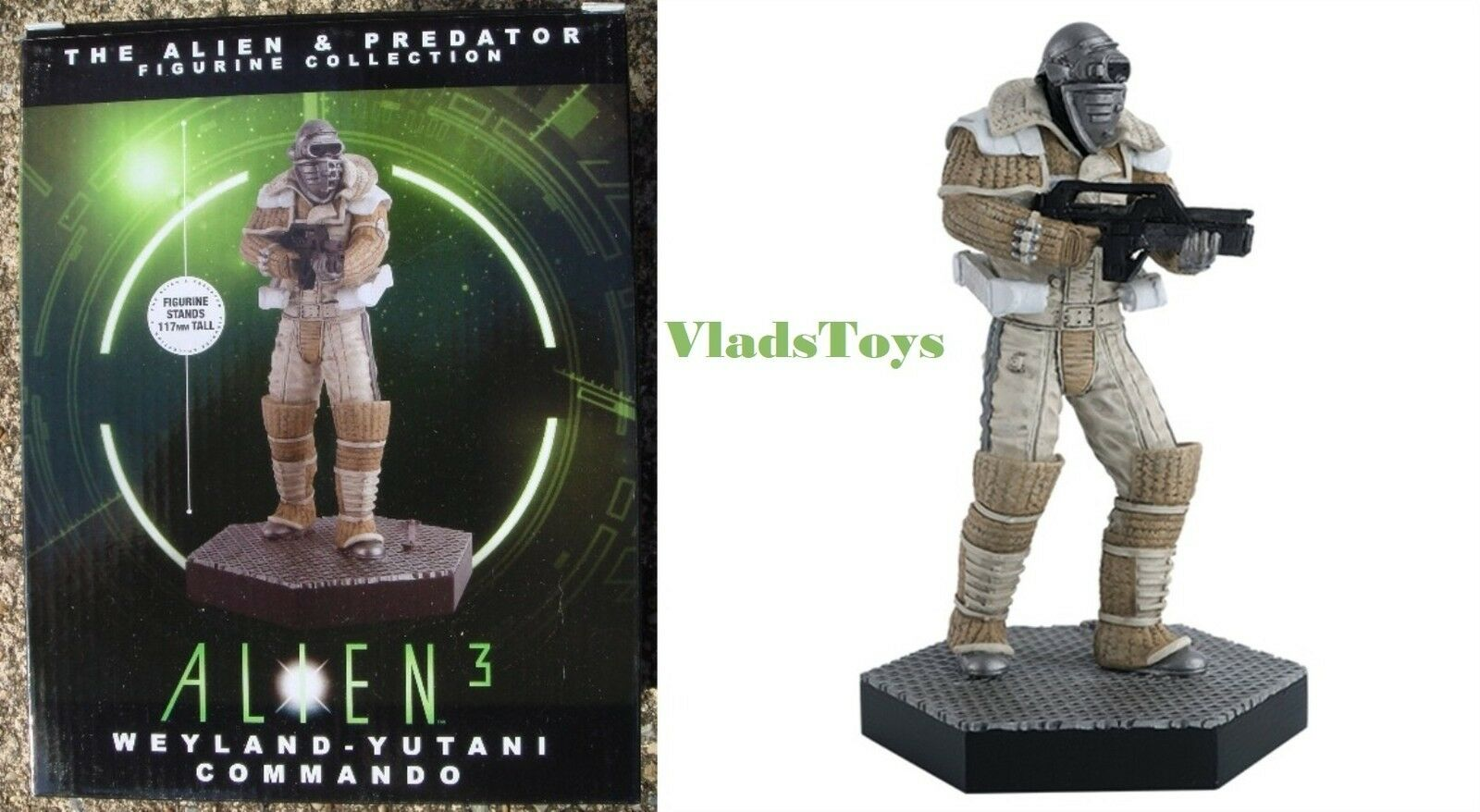 Eaglemoss 1 16 Alien & Predator Weyland-Yutani Commando Alien 3 Issue 33