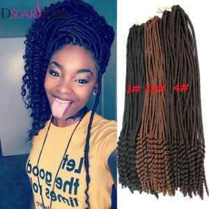 Image Is Loading 1pack Crochet Hairstyles Faux Locs Curly Ends Dreadlock