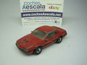 1-64-Matchbox-USADO-USED-REF-128-Ford-t-bird-turbo-coupe-1-67-cochesaescala