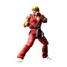 S.h.figuarts Ken Masters Street Fighter Action Figure Bandai in Stock USA