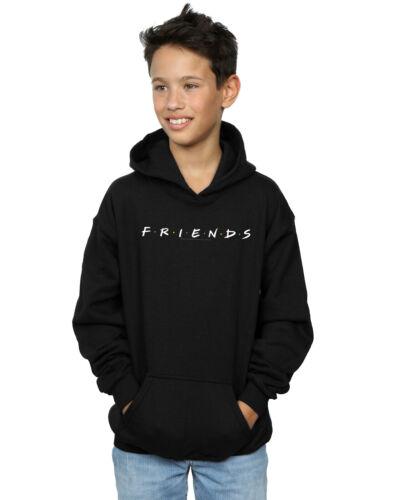 Friends Boys Text Logo Hoodie