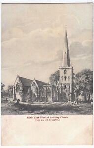 Herefordshire-Ledbury-Parish-Church-NE-PPC-Unused-By-Tilley-amp-Son-Ledbury