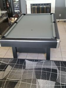 X Brunswick Pool Table Sleek Contemporary Style EBay - Sleek pool table