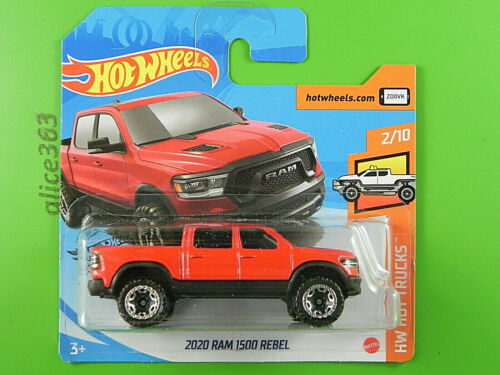 HOT WHEELS 2020-2020 RAM 1500 Rebel HW Hot Trucks neu in OVP 225