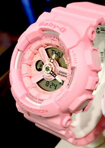 Casio g shock flower image pink ladies watch ba 110 4a1 ebay image is loading casio g shock flower image pink ladies watch mightylinksfo