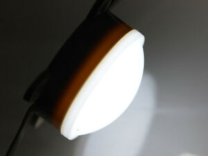 10-Pz-impermeabile-LED-Modulo-ip68-con-14-x-2835-LED-tondo-bianco-freddo-24V