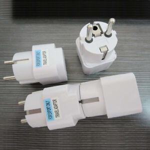 US-UK-AU-To-EU-Europe-Travel-Charger-Power-Adapter-Converter-Wall-Plug-Home-I