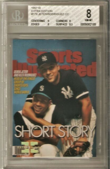 1997 SPORTS ILLUSTRATED 307/500 EXTRA EDITION #179 JETER/RODRIGUEZ 8 NM-MT