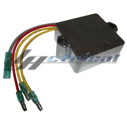 VOLTAGE REGULATOR RECTIFIER 12V 16-20 AMP 4 WIRE FOR MERCURY 8152794 185744