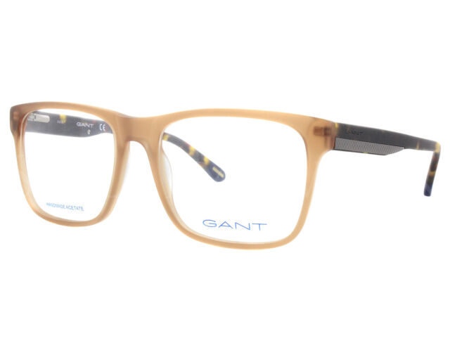 34c861c94f NEW Gant GA 3122 046 54mm Light Brown Optical Eyeglasses Frames