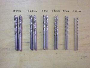 Set-punte-ferro-miniutensile-minitrapano-Kinzo-12-punte-foratura-foro-MIN